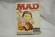 Rare MAD Magazines | Rare-1980-s-Mad-Magazine-Spanish-Edition-Card-Game-76-Cards-Alfred-E ...