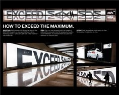 """Bronze - Creative Use of Traditional Advertising formats - The BMW Light Wall """"Reflection"""", BMW AG Deuschland, Serviceplan"""