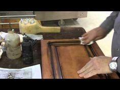 Golden(Honey)OAK to Medium/Dark Walnut - YouTube