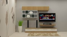 Shop now for Bee Balm TV Unit with Laminate Finish by Scaleinch. COD available, 0% EMI. Get custom TV Unit designs for Living room online @scaleinch