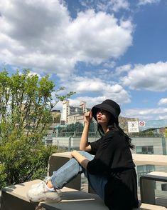Korean Girl Photo, Korean Girl Fashion, Cute Korean Girl, Korean Street Fashion, Ulzzang Fashion, Look Fashion, Fashion Outfits, Fashion Fall, Fashion Men