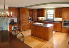 early style kitchen soapstone countertop timber -