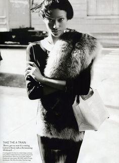 Vogue US March 2013,  David Sims, Grace Coddington,  Anaïs Mali
