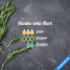 Awake and Alert - Essential Oil Diffuser Blend