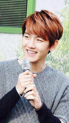 EXO - Baekhyun ♡ I absolutely adore this boy's refreshing smile!