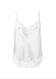 1796379ed9 GIVENCHY Givenchy White Silk Cami.  givenchy  cloth   White Tank