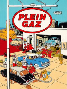 Plein Gaz Par Yves Chaland