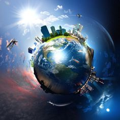 ONE WORLD: ONE GOVERNMENT? Thy Kingdom Come, Prays The Lord, Virtual Hug, Thy Will Be Done, Earth Photos, Love Your Neighbour, Political System, Baby Shower Invitation Templates, Environmental Science