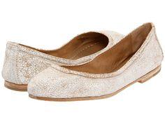 Frye Carson Ballet Rose Gold Metallic Cracked Leather - Zappos.com Free Shipping BOTH Ways