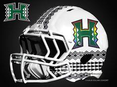 hawaii 51  #hawaii #rainbow #warrior helmets with my new version of the logo @Ryan Ozawa Athletics @HawaiiFootball