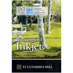 Bockingford : Inkjet Watercolour Digital Printer Paper : 190gsm : A4 : 20 Sheets