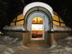 Apesar das temperaturas que podem chegar a -30°C em Kakslauttanen, Finlândia, esta vila de iglus todo o conforto - e aquecimento - aos visitantes. As estru