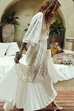 Ideas For Wedding Dresses Hippie Chic Beautiful Indie Outfits, Boho Outfits, Outfits Winter, Hipster Outfits, Fashion Outfits, Dress Fashion, Fashion Clothes, Dress Outfits, Summer Outfits