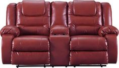 online shopping for Signature Design Ashley Vacherie Reclining Sofa Salsa from top store. See new offer for Signature Design Ashley Vacherie Reclining Sofa Salsa Leather Reclining Loveseat, 3 Piece Sectional Sofa, Couches, Leather Pillow, Signature Design, Recliner, Love Seat, Console, Infinite