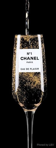 Sip Chanel ~ Happy Hour wearing Chanel clothes, Now wouldn't that be sweet!