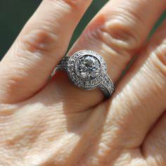Renee Engagement Ring   MiaDonna
