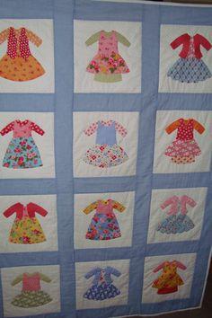 Quilt  Handmade doll dress quilt