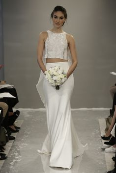 Theia White Bridal Fall 2015 - Slideshow - Runway, Fashion Week, Fashion Shows, Reviews and Fashion Images - WWD.com