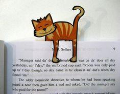 une jolie idée pour fabriquer un marque-page                                                                                                                                                                                 Plus