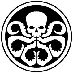Pumpkin Jack-o-lantern Pattern Marvel Hydra Marvel Dc, Captain Marvel, Stencil Art, Stencils, Octopus Art, Pumpkin Stencil, Black And White Pictures, Cthulhu, Tentacle