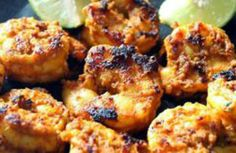 Masala Grilled Prawns Recipe - Cooking International - Healthy Food Recipes Blog. Recipe by Chef T. N. Shaji, Palm Grove Restaurant, Marco Polo Hotel, Dubai See More - http://cooking-international.blogspot.com/2014/05/masala-grilled-prawns-recipe.html