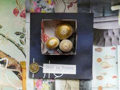 SOLD - 3 handpainted snowflake stones: Miniature Art on pebbles, home / xmas decoration | eBay