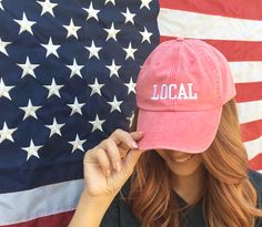 Red Local Hat