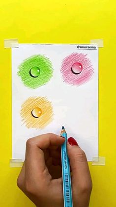 3d Art Drawing, Art Drawings For Kids, Art Drawings Sketches Simple, Pencil Art Drawings, Art N Craft, Diy Art, Oil Pastel Drawings Easy, Art Kits For Kids, Easy Canvas Art