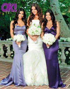 Kourtney, Khloe, Kim Kardashian Wedding Pic 9-09