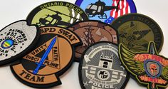 PVC Patches, Military Patches