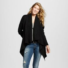 Women's Waterfall Cardigan - Mossimo Supply Co.™ (Juniors')