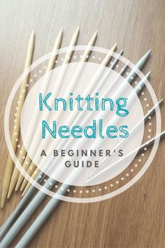How much do you know about knitting needles? Do you know your DPN's from your circulars? Your single points from your cables? Your fixed from your interchangeables? If you do, awesome! You're already one step ahead! If not, have no fear, knitting jargon aside, it's not actually all too complicated, and I'm going to explain what all the different types are and why you would use them! Click through to find out more!