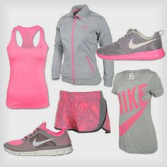 Sporty outfits, nike outfits, workout attire, workout gear, workout out Trend Fashion, Sport Fashion, Fitness Fashion, Womens Fashion, Fitness Wear, Fitness Outfits, Sport Chic, Workout Attire, Workout Wear