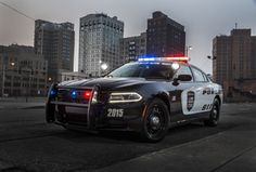 View detailed pictures that accompany our 2015 Dodge Charger Pursuit article with close-up photos of exterior and interior features. Black Dodge Charger, 2015 Dodge Charger, Dodge Charger Hellcat, Dodge Hemi, Dodge Charger Daytona, Police Cars, Police Patrol, Police Vehicles, Race Cars