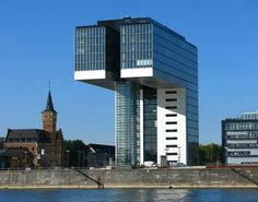 Kranhaus @ Rheinauhafen... Cologne, Germany... photo by CLEMENCE.