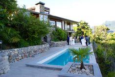 Swim-pool area of Villa Eureka