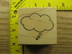 THOUGHT BUBBLE BY LIMITED EDITION Rubber Stamp #2880