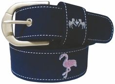 The Lexington Horse - Equine Couture Flamingo Suede Belt, $14.95 (http://www.lexingtonhorse.com/equine-couture-flamingo-suede-belt/)
