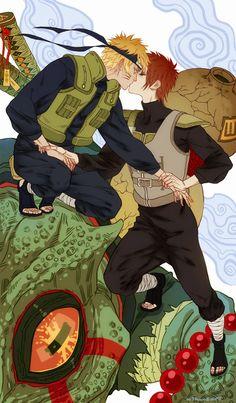NaruGaa my favorite ship ever Naruto Gaara, Anime Naruto, Gara Naruto, Comic Naruto, Kakashi Sensei, Naruto Cute, Naruto Shippuden Anime, Anime Guys, Narusasu