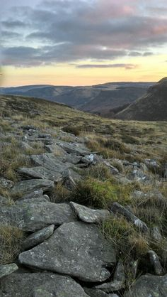 The top of the Rhondda