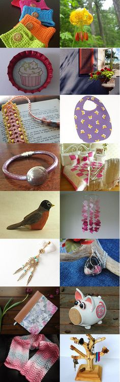 All about Spring by Kellee and Dorian Thomas on Etsy--Pinned with TreasuryPin.com