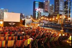 See a movie at the Rooftop Cinema  www.rooftopcinema.com.au
