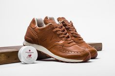 New Balance joins forces with British footwear connoisseurs Grenson for a new collaborative sneaker that gives the 576 silhouette a...