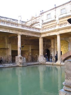 Roman Baths  -  plumbing at it's finest!  incredible! Still standing and functioning after all these years!