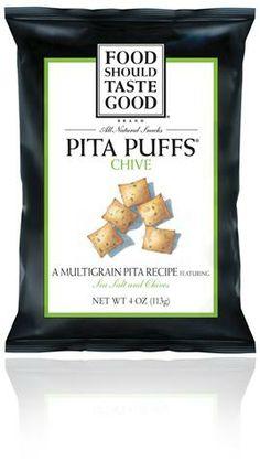 Food Should Taste Good Chive Pita Puffs #foodshouldtastegood