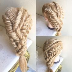 Mixed braids combo