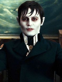 "BARNABAS COLLINS  In bringing the Dark Shadows leading man to the silver screen in 2012, Depp didn't stray far from the 1960s TV series. ""It was apparent to both Tim [Burton] and myself that it had to be rooted in Jonathan Frid's character of Barnabas,"" Depp told Collider.com. ""It was so classic, in the classic monster, Fangoria magazine way … Tim and I talked early on that a vampire should look like a vampire. It was a rebellion against vampires that look like underwear models."""