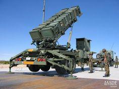 航空自衛隊の地対空誘導弾パトリオット(PAC3)