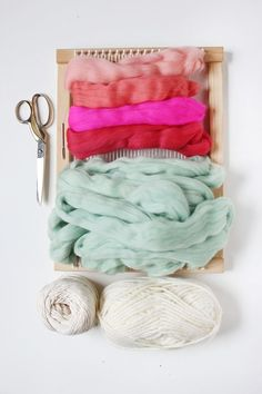 What you need to make a lovely textured wall hanging. Get the full tutorial for making a similar weaving from the lovely ladies at A Beautiful Mess | DunnDIY.com | #inspiration #DIY