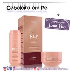 Shampoo e Creme Intensivo R.L.P. System - Amend (Low Poo) Leave In, Hair Goals, My Hair, Curly Hair Styles, Shampoo, Hair Care, Instagram, Soften Hair, Leave In Conditioner